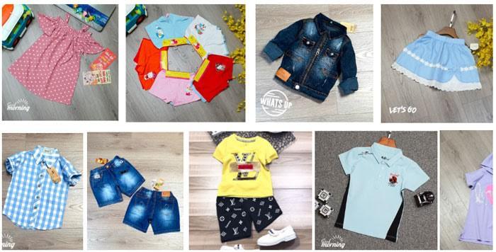tổng kho quần áo trẻ em xuất khẩu