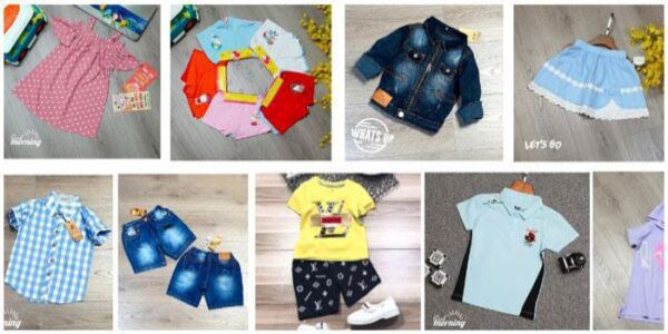 xưởng may gia công quần áo trẻ em