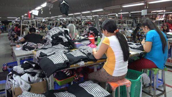 xưởng gia công quần áo trẻ em