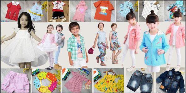 xưởng may quần áo trẻ em giá rẻ