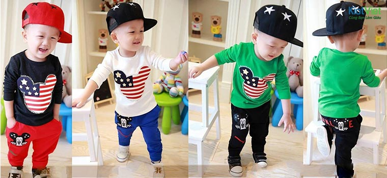 quần áo trẻ em giá rẻ tại TP. Hồ Chí Minh