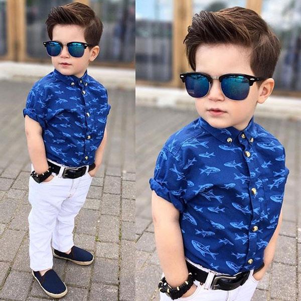 quần áo sành điệu cho bé trai