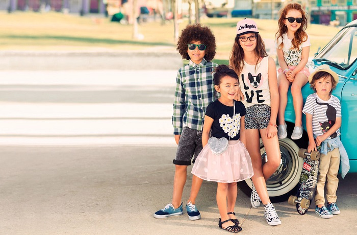 các thương hiệu thời trang trẻ em