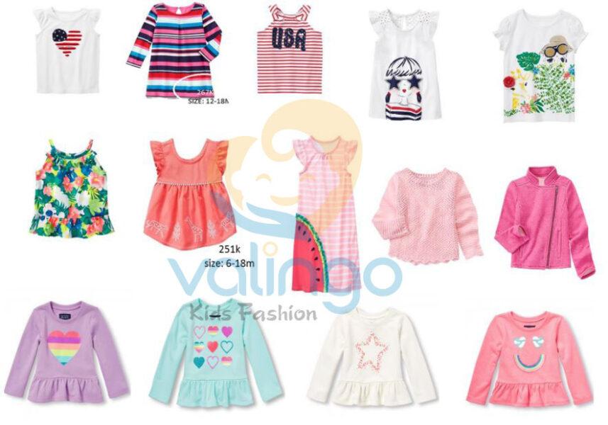 mẫu quần áo trẻ em
